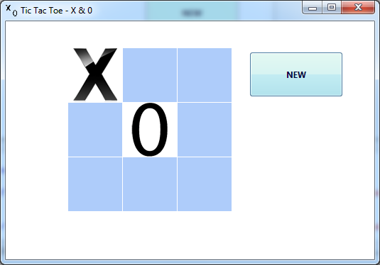 Tic Tac Toe Antonias Apps Screen shot